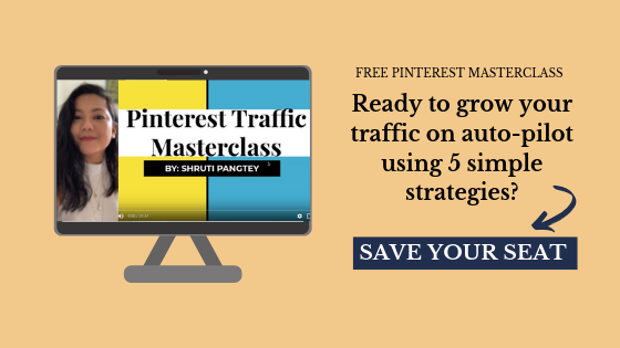 Pinterest masterclass optin