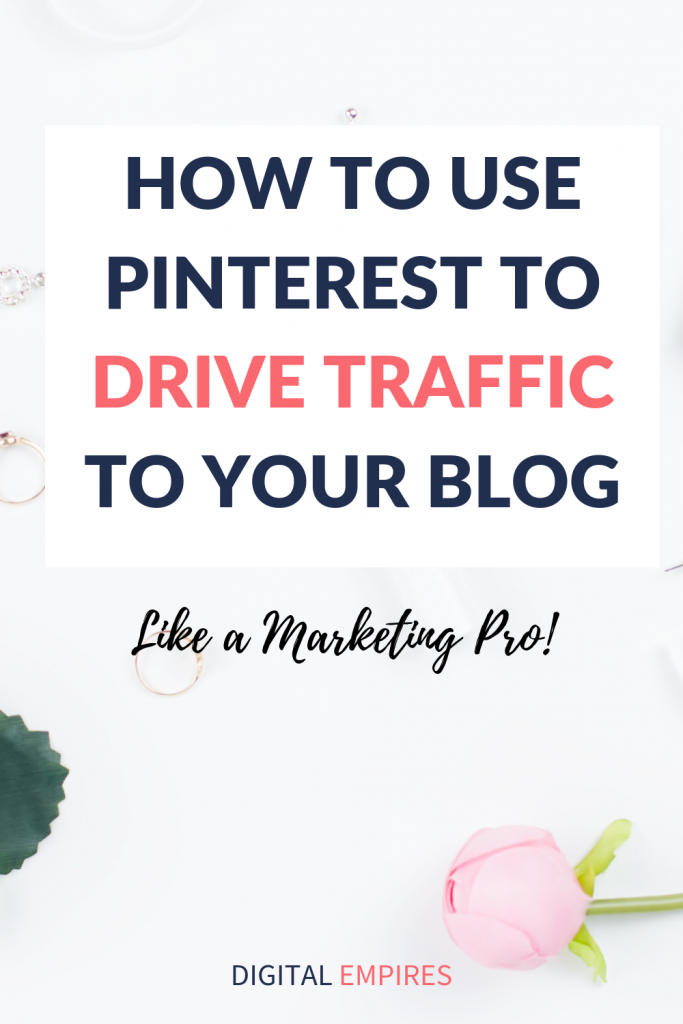 how to use pinterest to drive traffic to your blog pinterest image