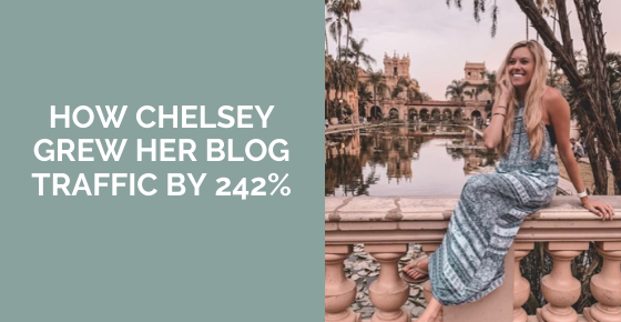 How Chelsey Grew Her Pinterest Traffic By 242%
