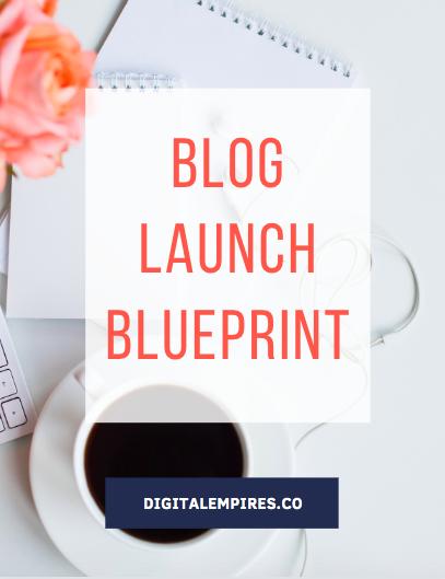 blog launch blueprint optin