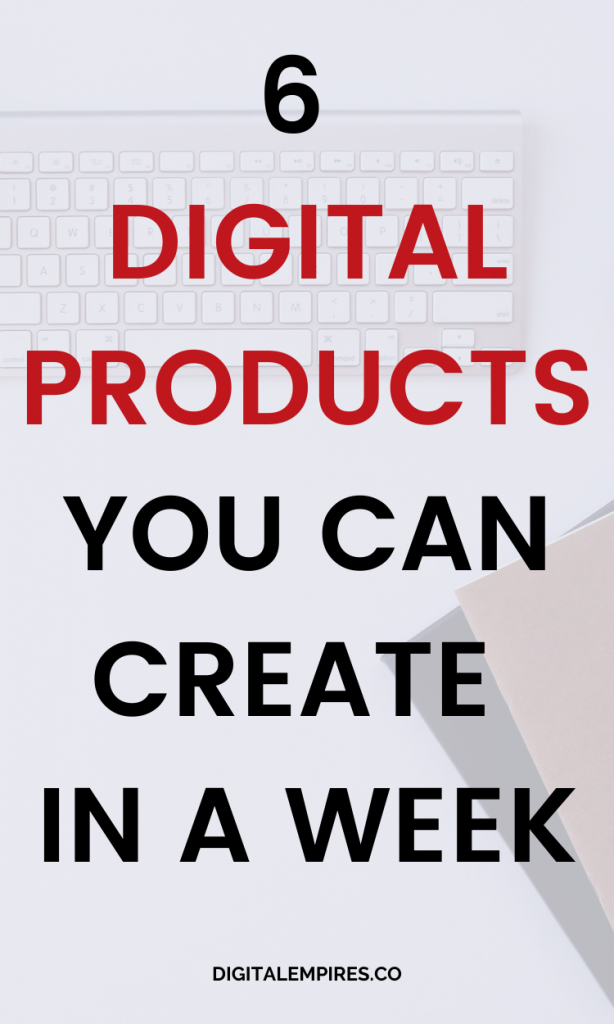 digital product ideas pinterest image