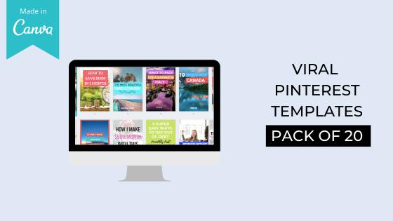 viral pinterest templates