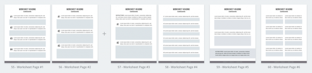 digital product ideas : workbook