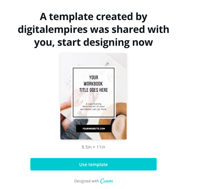digital product templates