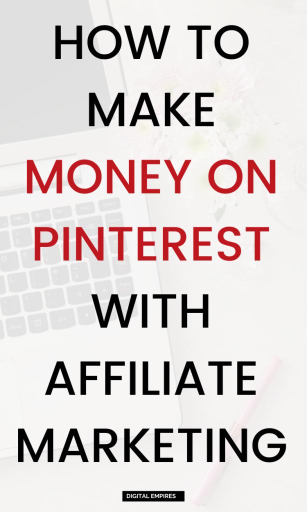 pinterest affiliate marketing for beginners